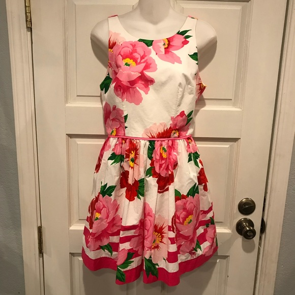 Abercrombie & Fitch Dresses & Skirts - Abercrombie & Fitch Sz 10 Floral Dress Open Back